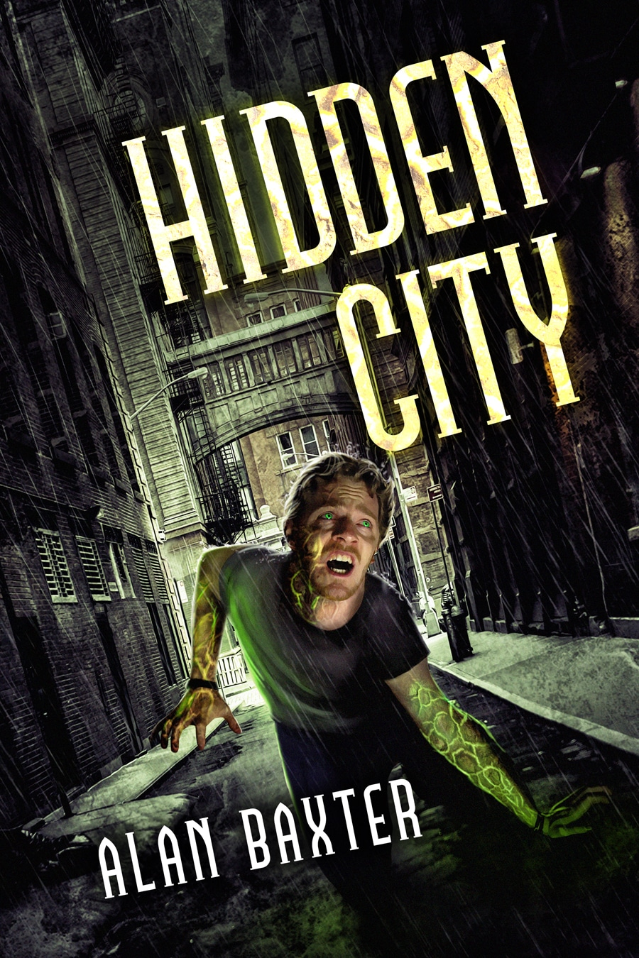 Alan Baxter: Five Things I Learned Writing Hidden City